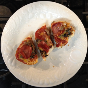Randy's French Bread Pizza