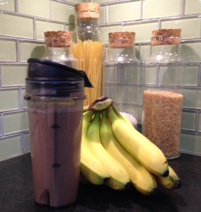 Frankie's Chocolate Banana Smoothie